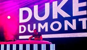 Duke Dumont Hideout 2014 Sayuri Standing