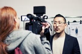 Eudon Choi SS15 Backstage by Sayuri Standing
