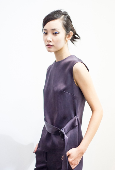 Eudon Choi AW15 Backstage by Sayuri Standing