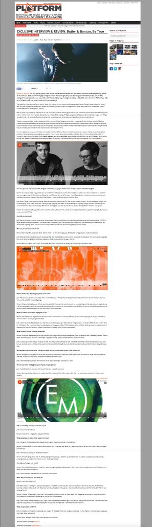 Bontan Butler Review Interview Platform